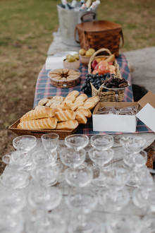 Big Sur Wedding picnic