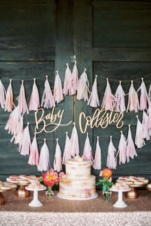 fringe garland decor