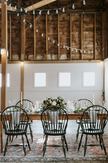 Bohemian barn wedding ideas