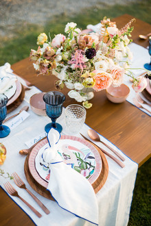 floral party at Flora Farms in Cabo
