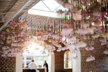 floral ceiling