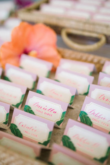 Bridal shower escort cards