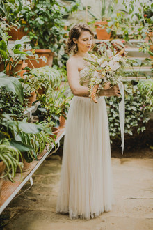 greenhouse inspired wedding ideas