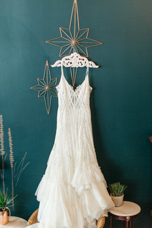 spanish lace wedding dress