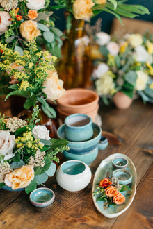 terracotta and emerald wedding inspiration