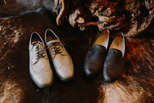 Two grooms shoes for Ace Hotel wedding