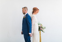 Modern minimal fall wedding ideas