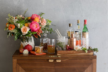 Fall cocktail bar