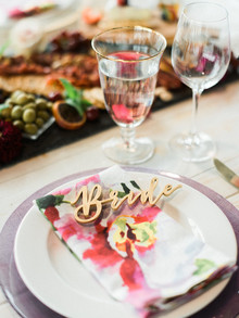 bridal shower table inspiration