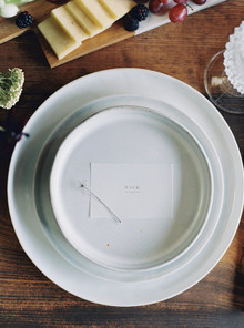 Minimal fall place setting