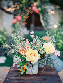 Yellow tree peonies in weddings