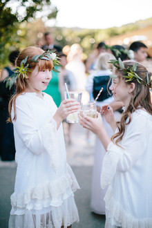 Boho flower girls