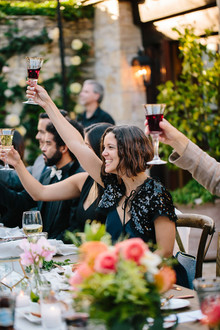 Holman Ranch wedding reception ideas