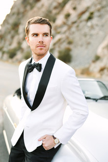 White suit jacket