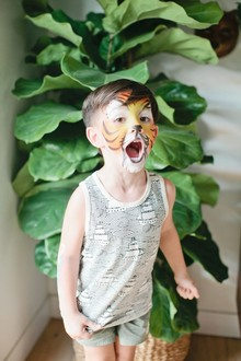 Jungle themed first birthday party ideas