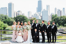 Classic chicago wedding