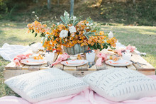 pastel fall party ideas