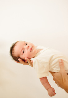 newborn photo session by Annie McElwain