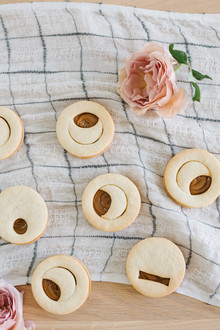 Moon sugar cookies