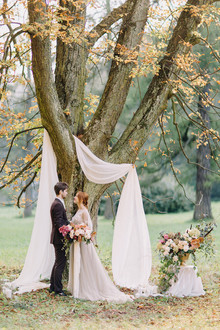 gorgeous wedding ceremony decor