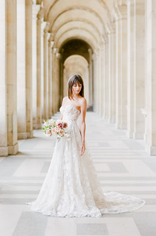 Bridal portraits in Paris | 100 Layer Cake