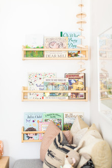 Louella's pastel nature-inspired girl's nursery