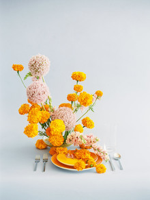 marigold wedding inspiration