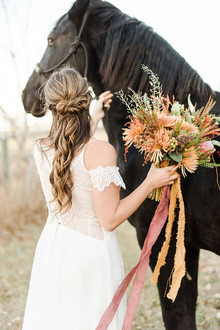 Organic fall wedding inspiration
