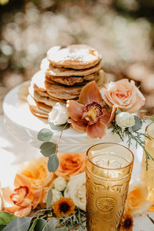 Vintage fall brunch wedding inspiration