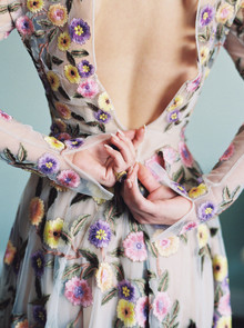 Floral festive holiday fashion inspiration