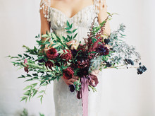 Winter jewel-tone wedding ideas