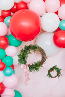 Bright festive kids Christmas party on 100 Layer Cakelet