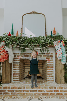 Festive family home and Christmas photos