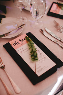 Modern jewel tone wedding at Vibiana in DTLA