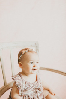 Ombre pink first birthday party