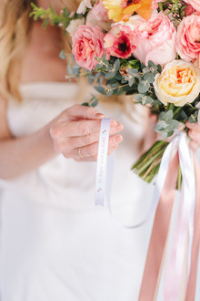 Printed ribbon for your wedding