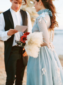 bohemian folk wedding ideas on 100 Layer Cake