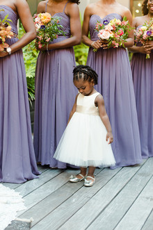 Olive and Fern flower girl dress