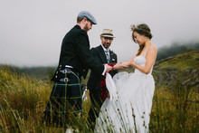Elopement in the Scottish Highlands on the Isle of Skype
