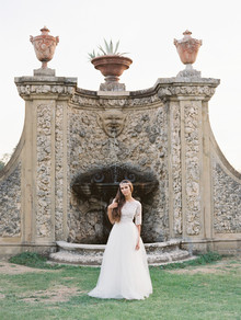 Romantic late summer Tuscan wedding inspiration