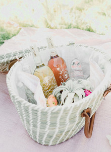 70's inspired earth day picnic from Beijos Events