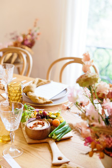 Earthy spring brunch inspiration