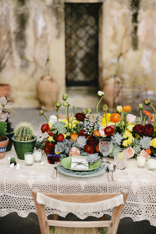 Frida Kahlo inspired wedding on the Amalfi Coast