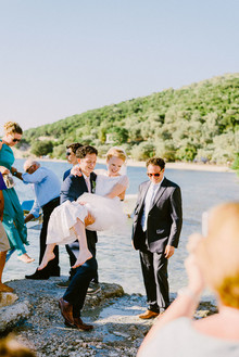 Mediterranean wedding in Meganisi, Greece