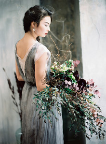 Minimal modern grey wedding ideas