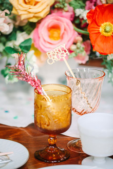 Colorful cocktail idea