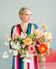 Colorful bouquet idea