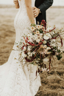 Organic bridal bouquet