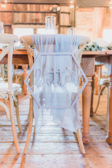 Rustic modern Jewish wedding at Terrain