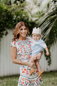 Boho Little Prince 1st birthday on 100 Layer Cakelet